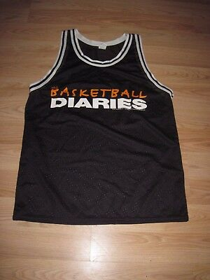 1995 Island Pictures Leonardo DiCaprio Basketball Diaries Promo Jersey/Free Ship