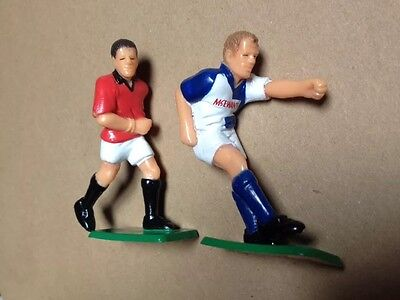 Alan Shearer & Lee Sharpe Football Figures