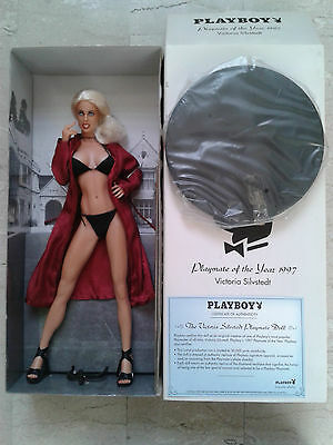 bambola fashion doll PLAYBOY Playmate VICTORIA SILVSTEDT (1997)