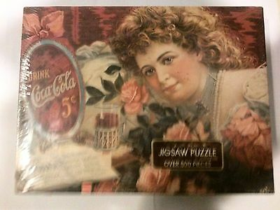 Coca Cola PUZZLE--500 Pieces--A Semtimental Sweetheart