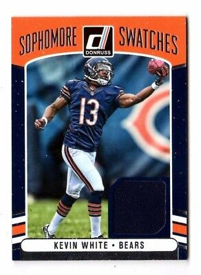 Kevin White Nfl 2016 Donruss Sophomore Swatches (Chicago Bears)