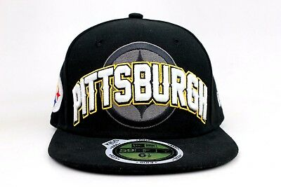 Pittsburgh Steelers Black Yellow White Kids Size NFL New Era 59Fifty Fitted  Hat b5bd93cfb