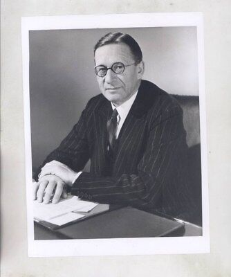 1965 Sir Reginald Rootes Chairman of Rootes Motors ORIGINAL Factory Photo wy6289