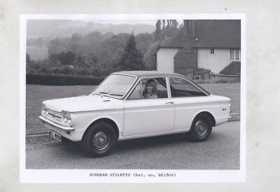 1967 ? Sunbeam Stiletto ORIGINAL Factory Photograph wy6316