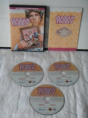 Mama's Family~The Complete First Season~3 Disc DVD Set~Tested & Works!!!!
