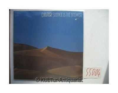 SILENCE IS THE ANSWER / BUDDHAM SHARNAM GACHAMI [2 Vinyl-LPs]. Deuter: 55004