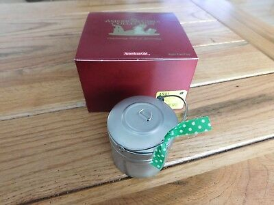 American Girl Addy Tin Pail Lunch  New In Box Retired Nrfb  Free Shipping
