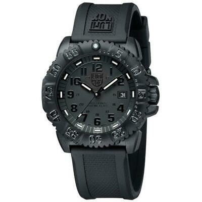 Luminox 3051 BLACKOUT EVO Navy SEAL Swiss Dive Watch