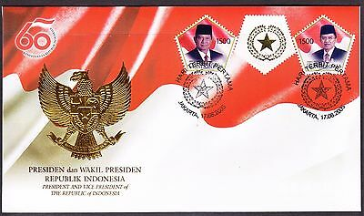 Indonesia 2005 President & Vice President 1500   First Day Cover