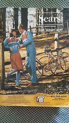 SEARS 1976 FALL WINTER Catalog Good CondItion