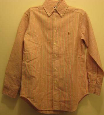 New  Ralph Lauren Boys Shirt Top 3 3T NWT Oxford Long Sleeve
