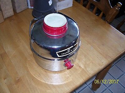 Vintage Therma King Cooler Therm-A-Jug Silver