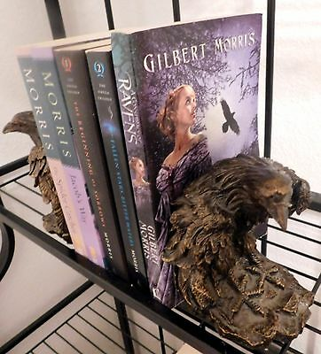 5 Gilbert Morris Omega Trilogy Sorrows Waters + Jacobs Way Spider Catcher Ravens