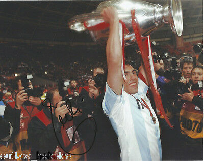 Manchester United Carlos tevez Autographed Signed 8x10 Photo COA