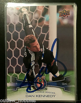 Chivas USA Dan Kennedy Autographed Signed 2012 UD Upper Deck MLS Card