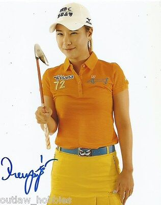LPGA Hee Young Park Autographed Signed 8x10 Photo COA A