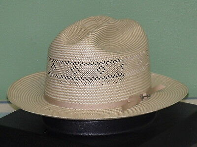 STETSON SHANTUNG STRAW Vented Open Road 2 Western Hat -  97.95 ... 94c5421d1be7