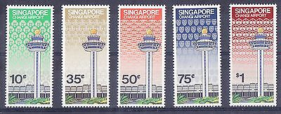 Singapore 1981 Changi Airport set Mint