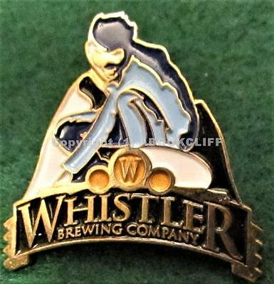BEER WHISTLER BREWING COMPANY VANCOUVER B.C. CAN. Mint Lapel Pin