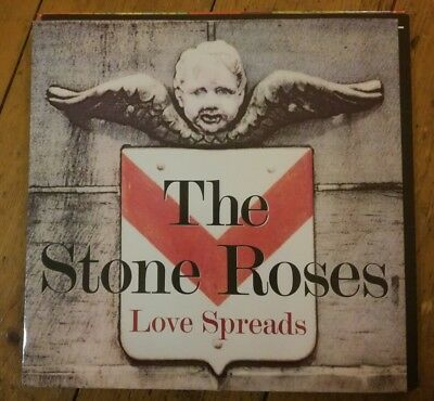 "Rare! The Stone Roses - Love Spreads 12"" Great 84 Geffen Records 1994 Vg++!"