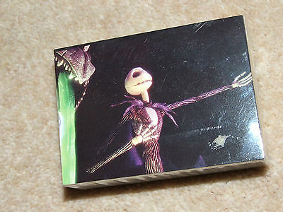 The Nightmare Before Christmas Trading Cards Complete Basic Set (72) & Wrapper