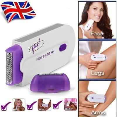 UK Soft YES Finishing Touch Hair Remover Hair Remover Sensor Light As Seen On TV