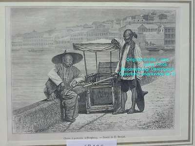 67402-Asien-Asia-China-Hongkong-Sedan-Sänfte-TH-1880