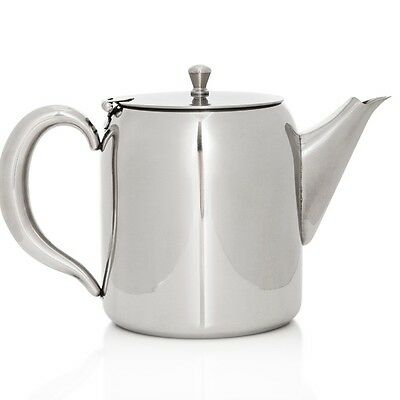 Classic Stainless Steel Teapot 1300ml Concierge Collection