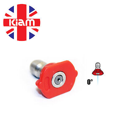 11.6mm Quick Release Nozzle Jet for High Pressure Washer 0° Sizes 03 - 05