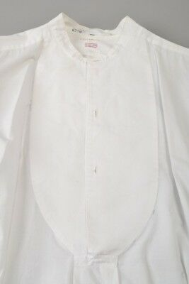 Gentleman's 1920s' Brettell of Bond Street London Evening Dress Shirt. Ref BJM