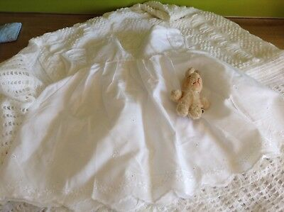 Authentic Vintage Baby infants Girls Childrens  Dress unused 70s 3m