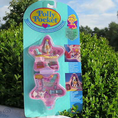 Mini Polly Pocket Fairy Fantasy NEW MOC glitzer Stern Feenzauber Bluebird NEU