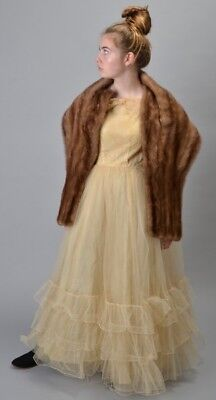 Magnificent Luxurious Clyne of Southport 1960s' Mink Fur Stole Collar. Ref BNB