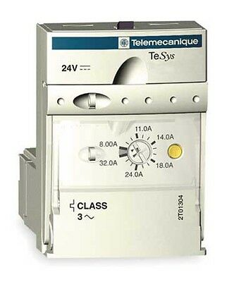 Telemecanique 0.09kW 0.6A Thermal Advanced Motor Control Unit Starter 3 Phase 3P