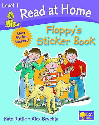 Read at Home: Level 1: Floppy's Sticker Book, Ruttle, Kate, Brychta, Alex, Very