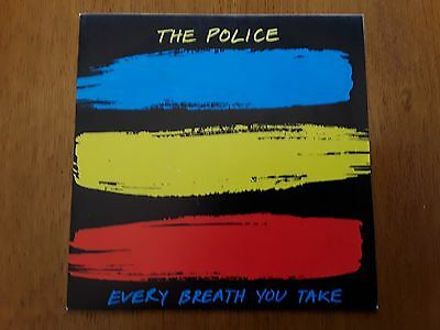 POLICE PS single Every Breath You Take (A&M AMS 9287 - Spain 1983)