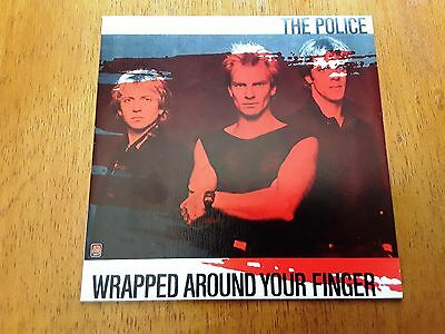 POLICE PS single Wrapped Around Your Finger (A&M AMS 9299 - Spain 1983)