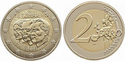 """Luxembourg 2011: """"Jean of Luxembourg"""", mint state"""
