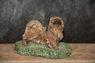 Cold BRONZE Cast PEKINGESE * The Kennel Collection by Marsha A Richardson 1980