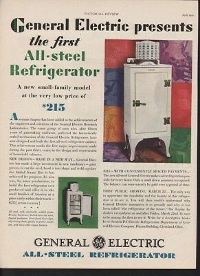 1929 General Electric All Steel Refreigerator Kitchen -13704