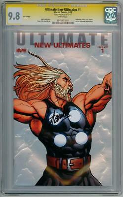 Ultimate New Ultimates #1 Cgc 9.8 Signature Series Signed Stan Lee Thor Movie