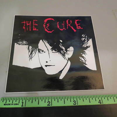 """The Cure (Robert Smith): Sticker (4"""" by 4"""")"""