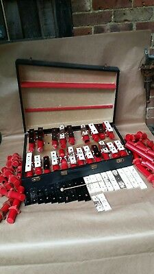Single Note Dulcet Xylophone Set Percussion Spares Or Repairs & Carry Case