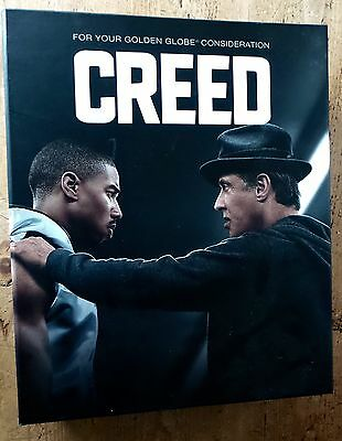 Creed Movie Deluxe Box Fyc Press Kit Limited Edition Promo Script Cd