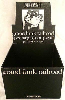 "Frank Zappa & Grand Funk ""good Singin' Good Playin"" Ultra-Rare Counter Display!!"