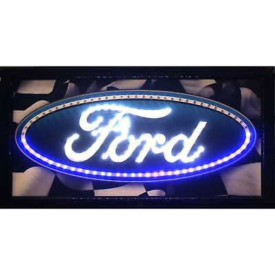 Ford Marquee LED Signs Man Cave Wall Decor