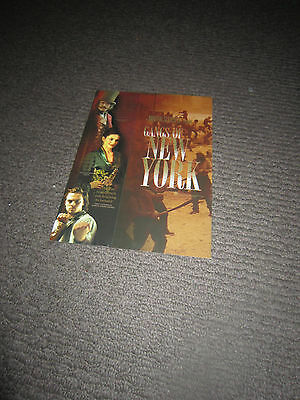 Gangs Of New York movie promotional booklet (MAKE AN OFFER!)