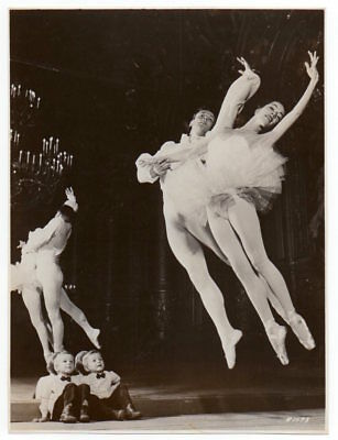 ballerina MARJORIE TALLCHIEF & GEORGE SKIBINE ballet dancer VINTAGE ORIG PHOTO