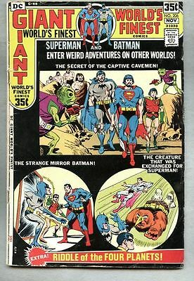 World's Finest Comics #206-1971 gd+ Batman Giant-Size Superman