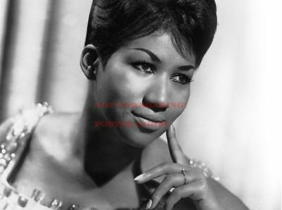 80's Vintage Eighties Art Photo Poster ARETHA FRANKLIN |24 inch by 36 inch| A